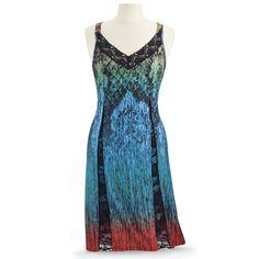 Sunrise Forest Dress