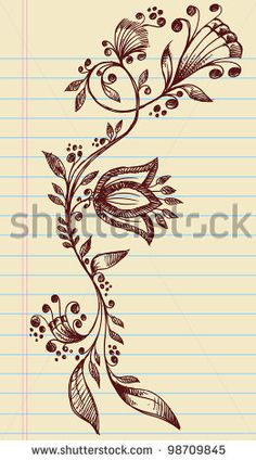 Google Image Result for http://image.shutterstock.com/display_pic_with_logo/88446/98709845/stock-vector-sketchy-doodle-henna-elegant-flowers-and-vines-hand-drawn-vector-98709845.jpg