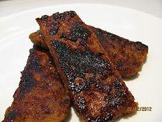 vegan Barbecued Ribs seitan