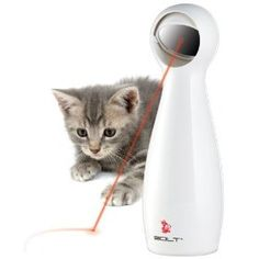 FroliCat BOLT Interactive Laser Pet Toy.  List Price: $19.95  Sale Price: $15.58  More Detail: http://www.giftsidea.us/item.php?id=b0021l8w6k