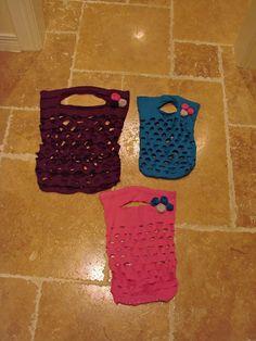 T-shirt purses