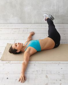 Crunches are not enough. Six moves that target your deep abdominal muscles.