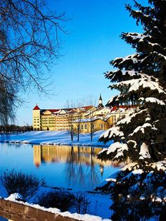 Holidays in Frankenmuth, Michigan! #Midwest