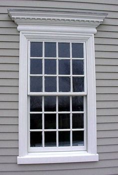 Classic colonial window