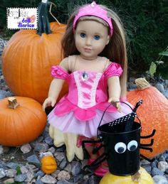 Trick or Treat Time at Doll Diaries!