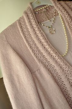 Ravelry: Old Town pattern by Carol Sunday. Knit top down.