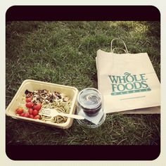 #vegan lunch in Central Park
