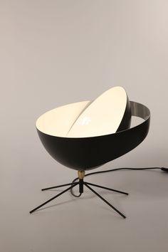Serge Mouille, lampe Petit Saturne #design #light #luminaire #lamp #deco