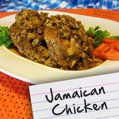 Recipes for Diabetes: Jamaican Chicken