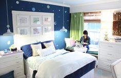 Remodelando la Casa: Teen Girl Room Reveal--Maybe some ideas for Ra's room