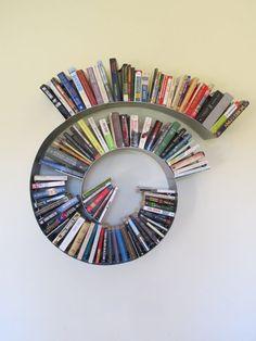 Unique Spiral Bookcase