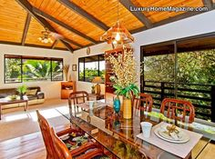 World Famous Waimea Bay | Hawaii | $1,350,000 #homes #house #diningroom #decor #design