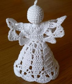 Crocheted Angels and bells not many patterns, but good pictures if you are talented.