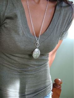 Locket Necklace - Womens- Just purchased this locket, putting a small piece of my wedding dress in my locket.
