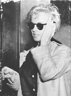 Marilyn Monroe, 1955, New York City viaperfectlymarilynmonroe