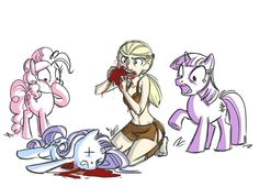 My Little Pony/Game of Thrones mashup.