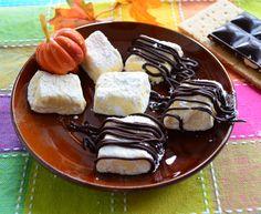 "Say no more...""orange cream"" #vegan Marshmallows! #recipe via @ourpassion4food"