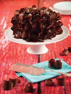 Pastel de chocolate #Recetas