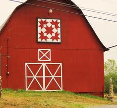Red Barn Quilt