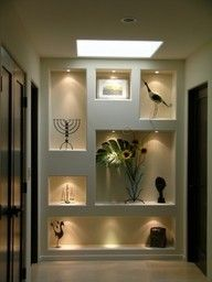 niche wall for art displays