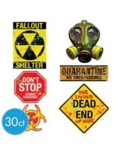 Doomsday Warning Signs Value Pack-Party City