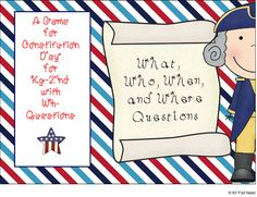 All Y'all Need: Constitution Day-A Wh Game! Pinned by SOS Inc. Resources. Follow all our boards at pinterest.com/sostherapy for therapy resources.