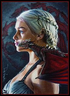 Game of Thrones Sketch Cards by David Desbois ... | IanBrooks.me