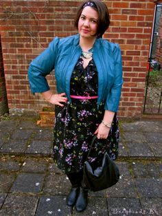 City Chic London style worn by blogger Em! Fashion | Plus Size