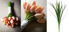 April: Best floral pick: Pastel-hued tulips  Complement them with: Lily grass