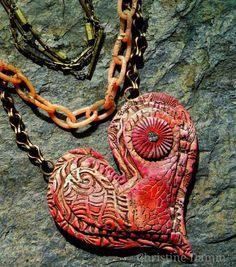 Layered Heart by Christine Damm