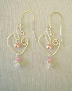 Boho Chic Earrings Art Earrings Bohemian Jewelry by BohoStyleMe