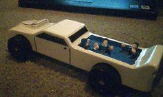 Pinewood Derby car ~ hillbilly pool