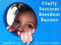 Crafty summer boredom busters to sort you out come rain or shine!