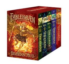 Fablehaven Series by Brandon Mull