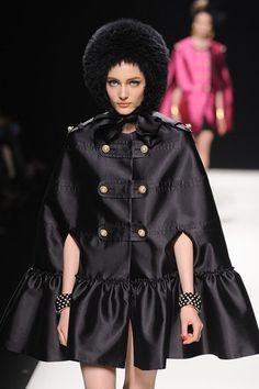 #Moschino Fall 2012 #Evening Coat