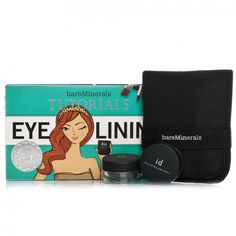 Bare Minerals Tutorials: Eye Lining is a kit containing two shadow liners, a precision eye liner applicator with three heads and a brush pouch to keep them clean and protected. This kit is perfect if you want to try more daring looks with your eyes but haven't quite got the confidence to go for it; this kit will show you how.