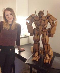 Optimus prime gingerbread.