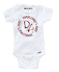HARRY POTTER - DUMBLEDORE'S ArMY - Funny - Movie - Any Size Infant or Toddler Tshirt or Onesie - Team EtsyBaby
