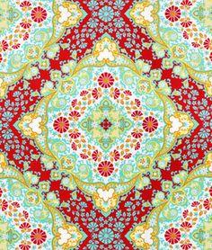 Joel Dewberry Kaleidoscope Poppy Fabric - $9.35 | onlinefabricstore.net