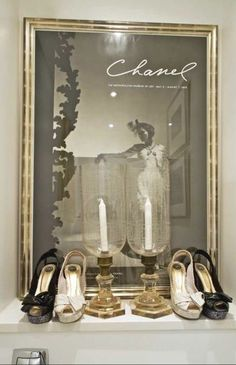 shoes and chanel