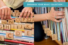 Kate Koeppel Design - organize records, movies, books, etc.