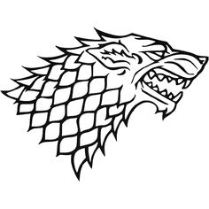 House Of Stark Game Of Thrones Vinyl Decal Sticker BallzBeatz . com