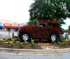 # Greenwood SC Festival of Flowers art