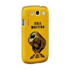 Capa de Celular Samsung Galaxy S3 Batman Chamada em Espera #lojadccomics #dccomics #comics #batman