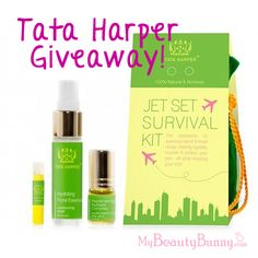 @Tata Harper Jet Set Survival Kit Giveaway! Click through for details!