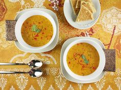 Lebanese Lentil soup... not the exact recipe I used to make - but ...