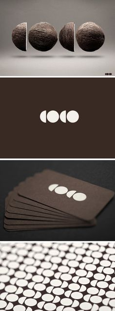 Very interesting.  Not sure how applicable this is to me, but it's a smart design.  Love that the logo is turned into a pattern.  Nice rich color palette.  - But I don't think all brown is for me.  COCO logo + identity