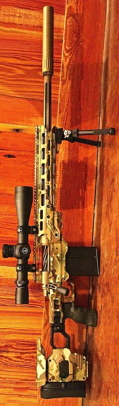 This is a beautiful sniper rifle.