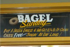 Boone Bagelry -- Recommended: the Overstuffed Bagelicious! Boone, NC -- http://www.exploreboonearea.com