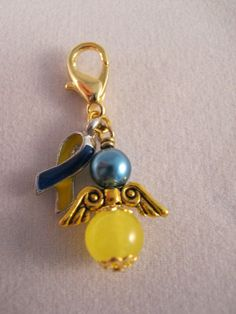 down syndrome key chain. love!